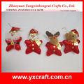 Ornamento de la navidad ZY14Y252-1-2-3-4 16 CM calle navidad decoraciones