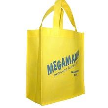 FH Yellow Shopping Non Woven Bag with Logo Printing