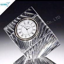 Wonderful fashionable design crystal clock gift