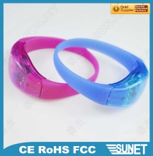 2014 new products high quality glow in the dark basketball bracelets