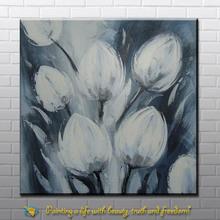 handmade flower canvas oil paintings modern art from xiamen factory
