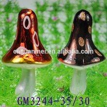 lovely color painting easter glass mushroom for gift
