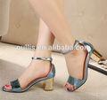 sandálias salto baixo moda senhora sapatos de salto confortável ph2913