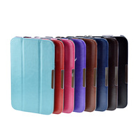 "HOT High Quality 3 Folding Magnetic Flip PU Leather Smart Protective Cover Case For Toshiba Encore WT8 8"" 8 inch Tablet"