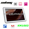 10.1inch IPS screen mtk6589 quad core smart phone 3g video calling in 2014