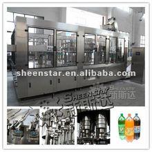 Factory produce carbonated soft drink pet bottles filler