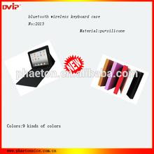 Foldable Leather Case Built-in Bluetooth Keyboard for iPad 2 iPad 3 iPad 4