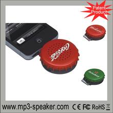 Bottle cap shape private model MPS-539 for Ipone small mini plug passive speakers