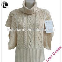 short sleeve women's aran sweaters