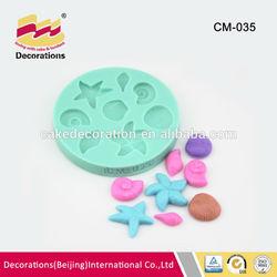 Fondant cake decoration food garde silicone forms