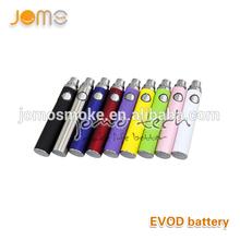Newest E Cig best Evod Battery, Evod Twist Battery, 3.2V-4.8v Variable Voltage Evod Twist batter