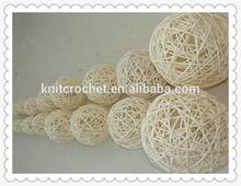 hand woven rattan ball, Wholesale wicker woven decorative ball