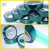 Silicone adhesive single sided pet adhesive tape high temp
