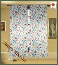 Child Room Blackout 6 hop-pocket window curtain