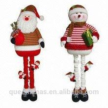 Extendable Santa Snowman Lowes outdoor Christmas Decoration