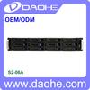 2U 12 bay hot swap rack mount storage server case