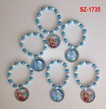 SZ-1735 Frozen inspired party favor bracelet.. Frozen bracelet.. Frozen party.. Frozen party favor.. Frozen..Elsa bracelet..Anna