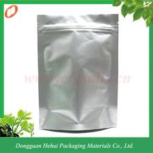 Hot selling aluminum foil bag with ziplock