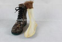 transparent lady's Ankle Rain Boots