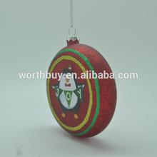 Christmas ball with joy bird from Shenzhen factory