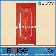 BG-W9048 chinese wooden door design pictures for villas