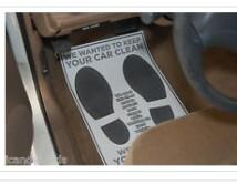 Top product mat floor car
