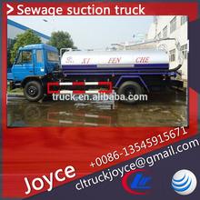 5500l máquinasdecostura limpeza com aspirador a vácuo, usado mão direita da unidade de sucção de esgoto caminhões