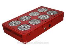 wholesale led grow light manufacturer 120 *3w high power led grow light red blue uv ir best for medical plant