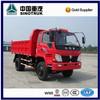 2015 new 6 wheels light tipper truck for sale