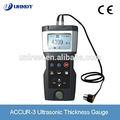 Urndt accur- 3 hohe- Präzision ultraschall-dickenmessung digitale ultraschall-dickenmesser