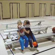 Indoor basketball court metal grandstands bleacher seating