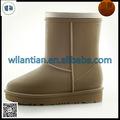 Dames mode chaud et imperméable pvc bottes de neige