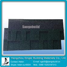 Colorful 5 tab asphalt shingle/Laminated bitumen roof shingle/tile/felt