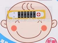 Infantile fever heat temperature sensitive sticker