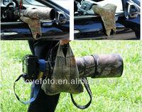 Large Beanbag Camera Scope Rest Photography Birdwatching Waterproof Oak Bean Bag