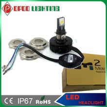 off road motorcycle headlight,15w 1650Lumen 12v 24v DC H4 H6 H7 off road motorcycle headlight