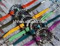 Dreamcatcher amizade pulseiras pulseiras dreamcatcher novo suede cores, os melhores amigos do pacote, dois escolher qualquer cor