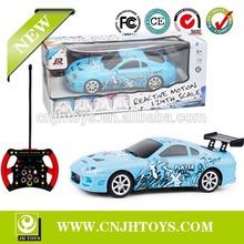 QY0826 Rc Toys 1:24 Scale 4 Channel Power Sense Remote Control Car