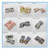 colored metal buckle/ metal paracord buckle/adjustable side release buckle for paracord bracelet
