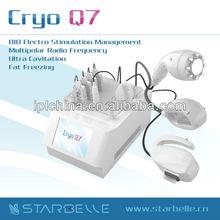 Max 5W/CM2 Cavitation Radio Frequency Portable Cryo Freeze Fat