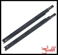 Black 3-fold dtc kitchen drawer ball bearing sliding mechanism