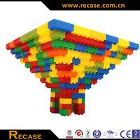 2014 hot DIY educational toys children plastic building blocks