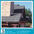 Couleur aluminium tuile de toiture