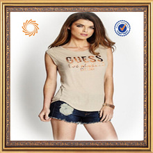manufacturer direct supplier new style design womens fit t-shirt