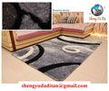 Projeto quente venda não. Tianjin 1 shaggy tapete fábrica diretamente a venda de poliéster tapetes shaggy de seda cinza escuro design série
