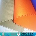 Tissu 270gsm Oeko-tex de 100,de coton, l'huile reardant du feu ciré pour l'utilisation dans l'industrie