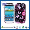Fashional mobile phone back housing covers for samsung galaxy s3