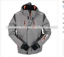 2014 Waterproof 5000mm outdoor softshell mens jacket for sportswear