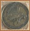 2014 Custom Metal North American Hunting Club Black Bear and American Eagle Medallion Coin Antique Brass Souvenir Coin