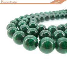 2014 ааа класса китайский производитель полудрагоценных камней 10 мм малахит зеленый цена